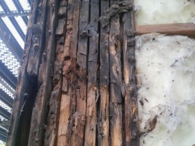 Rot Due to Water Infiltration